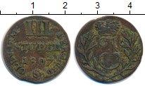 Изображение Монеты Берг 3 стюбера 1807 Серебро VF Иосиф Максимиллиан I
