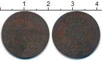 Изображение Монеты Ганновер 1 пфенниг 1832 Медь VF
