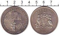 Изображение Монеты Барбадос 5 долларов 1995 Медно-никель UNC