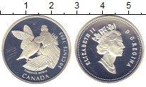 Изображение Монеты Канада 50 центов 1995 Серебро Proof- Елизавета II.  Птицы