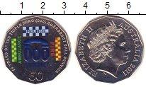 Изображение Монеты Австралия 50 центов 2011 Медно-никель UNC Телефон неотложных с