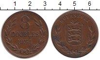 Изображение Монеты Гернси 8 дублей 1934 Бронза XF