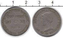 Изображение Монеты Франция Реюньон 50 сантим 1896 Медно-никель XF-