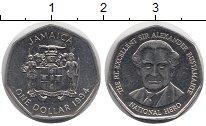 Изображение Монеты Ямайка 1 доллар 1994 Медно-никель XF