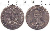 Изображение Монеты Гаити 50 сантимов 1995 Медно-никель XF