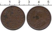 Изображение Монеты Индия 1/4 анны 1936 Медь XF