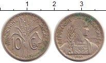 Изображение Монеты Индокитай 10 центов 1941 Медно-никель VF Французский протекто