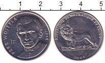 Изображение Монеты Конго 1 франк 2004 Медно-никель XF