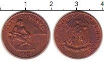 Изображение Монеты Филиппины 1 сентаво 1963 Медь XF