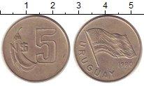 Изображение Монеты Уругвай 5 песо 1980 Медно-никель UNC