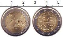 Изображение Монеты Испания 2 евро 2009 Биметалл XF 10  лет  Валютному