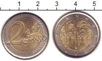 Изображение Монеты Испания 2 евро 2010 Биметалл XF Исторический  центр
