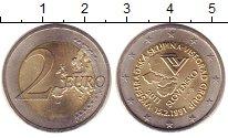 Изображение Монеты Словакия 2 евро 2011 Биметалл XF