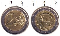 Изображение Монеты Бельгия 2 евро 2009 Биметалл XF