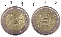 Изображение Монеты Италия 2 евро 2012 Биметалл XF