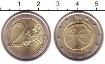 Изображение Монеты Италия 2 евро 2009 Биметалл XF