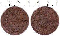 Изображение Монеты Швеция 1/4 эре 1636 Медь VF Герб