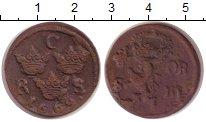 Изображение Монеты Швеция 1/6 эре 1669 Медь VF