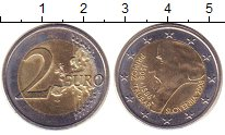 Изображение Монеты Словения 2 евро 2008 Биметалл XF