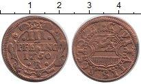 Изображение Монеты Росток 3 пфеннига 1750 Медь XF R