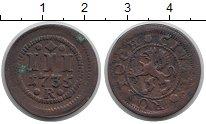 Изображение Монеты Росток 3 пфеннига 1735 Медь XF R