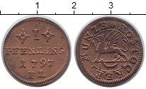 Изображение Монеты Росток 1 пфенниг 1797 Медь VF