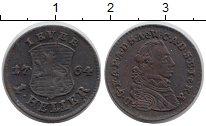 Изображение Монеты Германия Йевер 1 геллер 1764 Медь XF