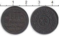 Изображение Монеты Оснабрук 3 пфеннига 1720 Медь