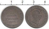 Изображение Монеты Ганновер 1/12 талера 1839 Серебро VF