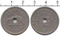 Изображение Монеты Дания Гренландия 25 эре 1926 Медно-никель VF