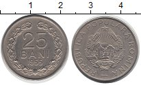 Изображение Монеты Румыния 25 бани 1955 Медно-никель XF Герб
