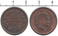 Изображение Монеты Баден 1 крейцер 1829 Медь XF