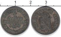 Изображение Монеты Германия Гессен 1 грош 1864 Серебро XF