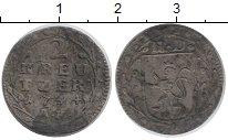 Изображение Монеты Гессен-Дармштадт 2 крейцера 1744 Серебро
