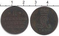 Изображение Монеты Ганновер 2 пфеннига 1817 Медь XF С