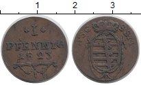 Изображение Монеты Германия Саксен-Кобург-Саалфелд 1 пфенниг 1823 Медь VF