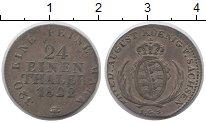 Изображение Монеты Саксония 1/24 талера 1822 Серебро VF