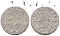 Изображение Монеты Германия Брауншвайг-Люнебург 1/12 талера 1751 Серебро VF