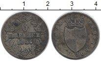 Изображение Монеты Германия Гогенцоллерн-Зигмаринген 6 крейцеров 1846 Серебро