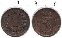 Изображение Монеты Норвегия 1 эре 1891 Медь XF Оскар II.