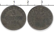 Изображение Монеты Германия Ольденбург 3 грота 1840 Серебро VF