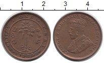 Изображение Монеты Шри-Ланка Цейлон 1 цент 1925 Медь XF
