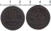 Изображение Монеты Мюнстер 3 пфеннига 1753 Медь VF
