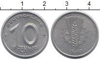 Изображение Монеты ГДР 10 пфеннигов 1949 Алюминий XF