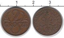 Изображение Монеты Польша 2 гроша 1932 Медь XF