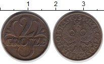 Изображение Монеты Польша 2 гроша 1931 Медь XF