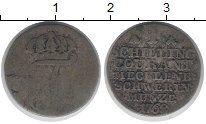 Изображение Монеты Мекленбург-Шверин 1 шиллинг 1768 Серебро VF
