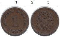 Изображение Монеты Германия 1 пфенниг 1875 Медь VF