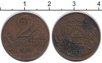 Изображение Монеты Латвия 2 сантима 1932 Медь VF