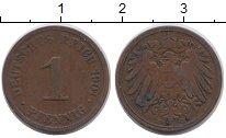 Изображение Монеты Германия 1 пфенниг 1901 Медь VF